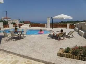 Ferienhaus Villa Erofili mit 4 Schlafzimm - Kreta  Rethymnon Asteri -
