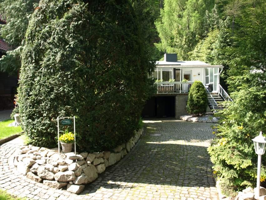 Zufahrt zm Ferienhaus ****