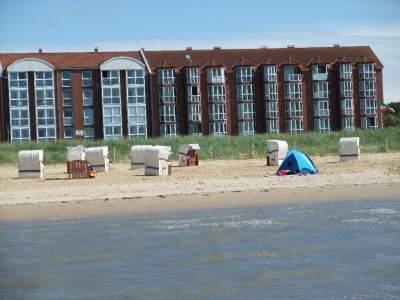 MEERBLICK FERIENWOHNUNG STRAND in Cuxhaven an der Nordsee