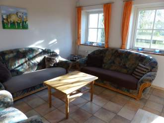 Spykdorp - Ferienwohnung in Oosterend, Nordholland - Wohnzimmer große Wohnung
