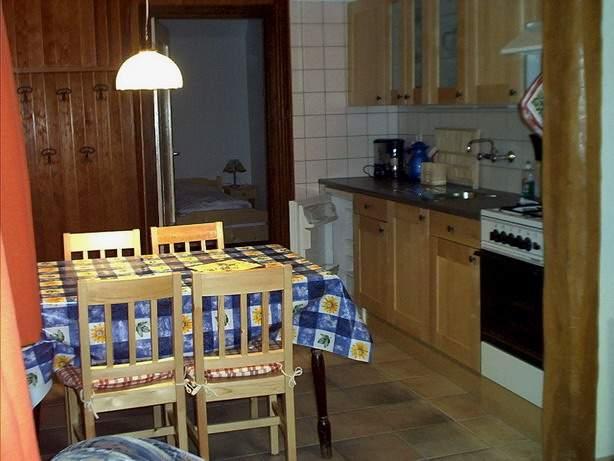 Küche große Wohnung