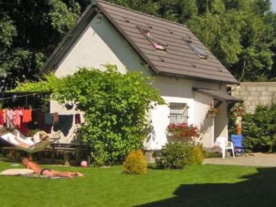 Ferienhaus FH Domek Maja mit Meerblick, 30m vom Strand - Ostsee Polen  Kolberg Kolobrzeg sarbinowo