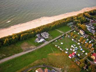 Ferienhaus FH Domek Maja mit Meerblick, 30m vom Strand - Ostsee Polen  Kolberg Kolobrzeg sarbinowo -