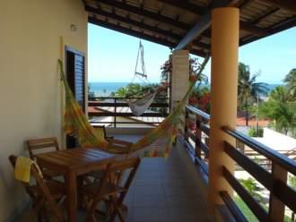 Gästezimmer Casa - Vento  - Fortaleza   Cumbuco/Fortaleza - erste Etage Blick zum Meer