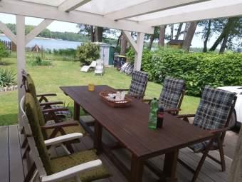 HAUS am SEE Privat-Steg Ferienhaus  - Bild 6