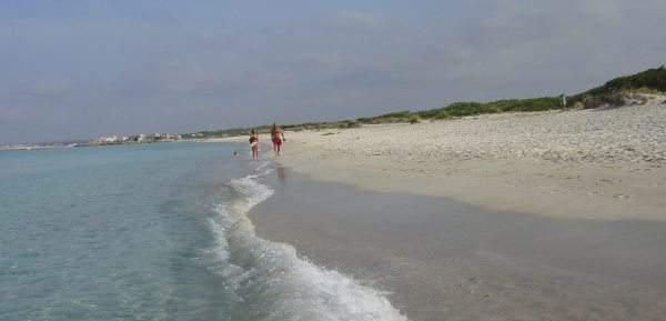 Sandstrand Sa Rápita-Es Trenc, nur ca 3 Km entfernt von Ihrem Ferienhaus