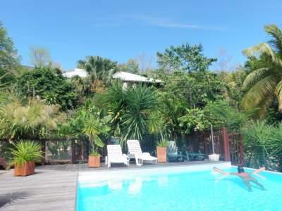 Domaine Lizardy - Ferienhaus in pointe noire, Basse-Terre