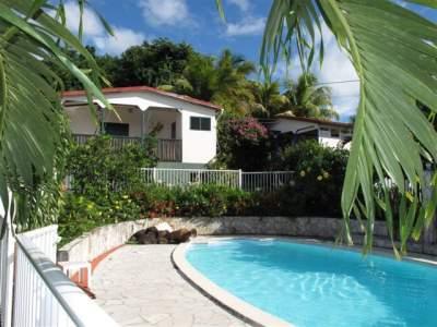 Chalets Sous-le-Vent - Ferienhaus in Bouillante, Basse-Terre