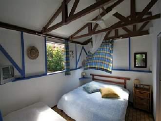 Chalets Sous-le-Vent - Ferienhaus in Bouillante, Basse-Terre - Zimmer chalet 2-3pers
