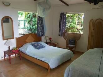 Chalets Sous-le-Vent - Ferienhaus in Bouillante, Basse-Terre - Bungalow 2-3p Zimmer