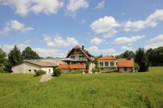 Ferienwohnung Ferienidyll Aumühle - Baden Württemberg   Rot am See - Großer Landhausgarten mit versch. Ruhe-