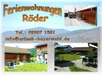 Urlaub Bayerischer Wald Ferienwohnung  - Bild 1