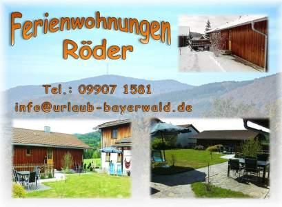 Urlaub Bayerischer Wald - Ferienwohnung in Thurmansbang