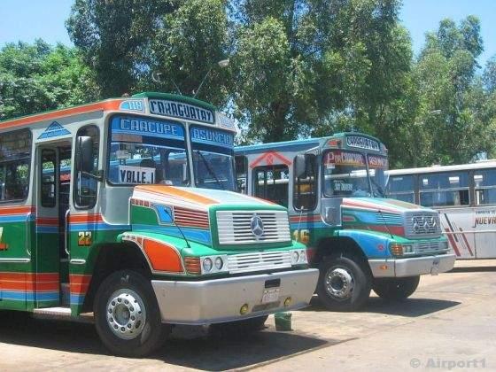 Die Busse in Paraguay