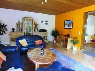 FeWo mit  Sauna & W-LAN - Ferienwohnung in Esens, Nordsee - Wohnzimmer Ferienwohnung