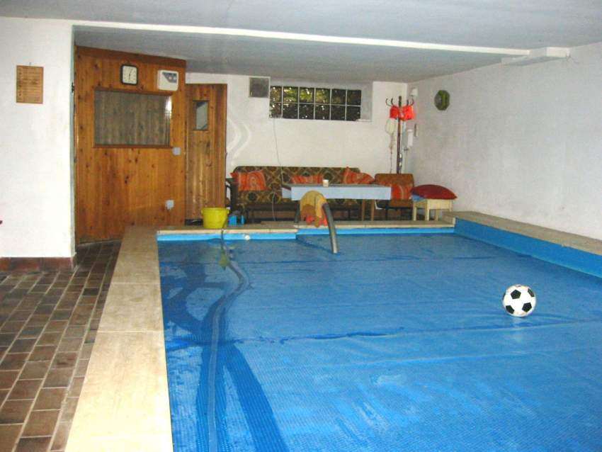 Schwimmbad und Sauna
