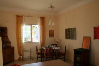 Ferienhaus Villa Carina in Apulien - Apulien  Taranto San Pietro in Bevagna - Der Wohn- und Essbereich der Villa Carina
