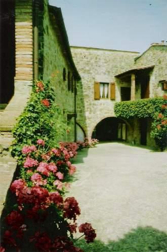 Ferienwohnung Weingut SAN LEONARDO - Toskana  Chianti Classico Greve in Chianti - und der Hof