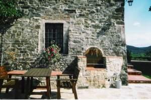 Ferienwohnung Weingut SAN LEONARDO - Toskana  Chianti Classico Greve in Chianti - Hier können Sie grillen.