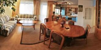 Apartment Apartment Domotel TM LUX - Zentralpolen   Tomaszow - Mazowiecki (Woiwodschaft Lodz) - Wonzimmer Panorama