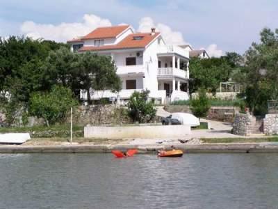 Ferienwohnung ALF Rab-direkt am Meer - kroatische Inseln  Insel Rab Kampor