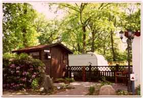 Das Hunte-Camp nähe Oldenburg