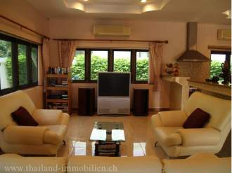 Ferienhaus Luxusvilla mit Swimmingpool - Prachuap Khiri Khan   Hua Hin - Wohnbereich
