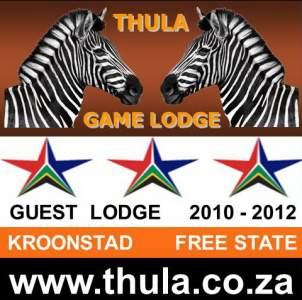 Ferienhaus THULA GAME LODGE -  andere Region Südafrika   KROONSTAD (FREESTATE) N1
