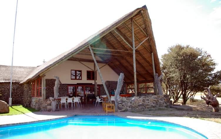 Hunters Lodge (Unterkunft bis zu 8 Personen möglich)