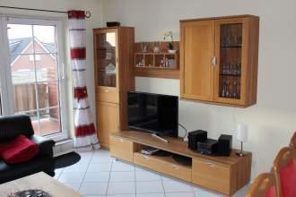 Seestern**** Borkum - Ferienwohnung - Wohnzimmer
