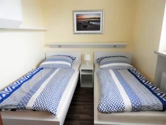 Ferienwohnung Am Sahlenburger Strand 1 - Nordsee Cuxland Cuxhaven Cuxhaven-Sahlenburg - Schlafzimmer