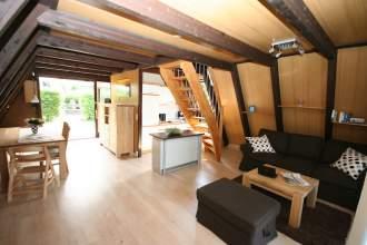 Ferienhaus Raus ins Eifelhaus - Eifel Eifel Rheinland Pfalz Oberscheidweiler Stadtkyll - Das helle Erdgeschoss