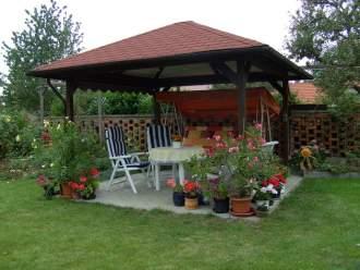 Ferienwohnung Ferienwohnung am Geiseltalsee - Sachsen Anhalt Halle Saale Region Merseburg Mücheln / Geiseltal - Gartenterrasse