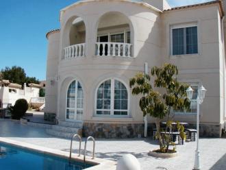 Ferienhaus Villa Presidente, Privat-Pool - Costa Blanca  Torrevieja Orihuela Costa - Hausansicht