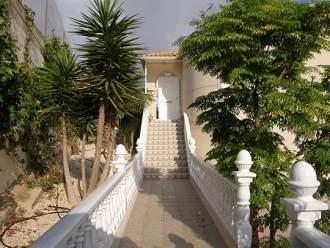 Ferienhaus Villa Presidente, Privat-Pool - Costa Blanca  Torrevieja Orihuela Costa - Eingang