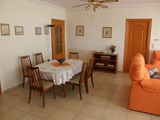 Villa Presidente, Privat-Pool - Ferienhaus in Orihuela Costa - Essbereich