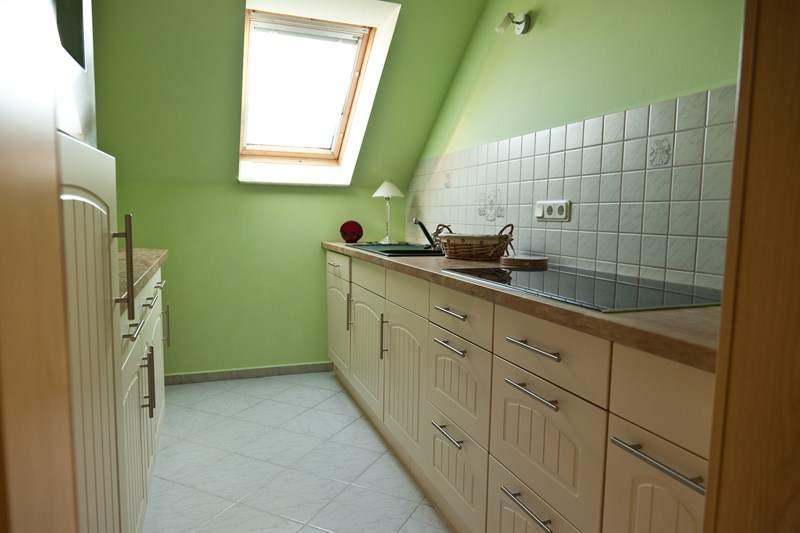 Die Küche  - Ferienwohnung Hetzdorf