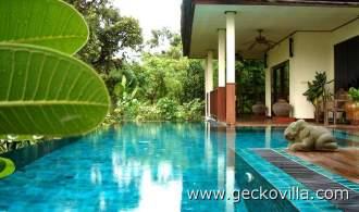Ferienhaus Gecko Villa - Udon Thani   Udon Thani - Privater Pool am Gecko Villa