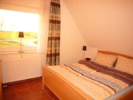 Zweibettzimmer mit Boddenblick