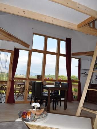 Holzbungalow am See Alleinlage Ferienhaus  - Bild 3