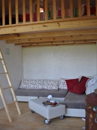 Holzbungalow am See Alleinlage Ferienhaus  - Bild 4