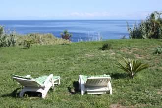 Ferienhaus Casa Verde - Azoren   Ajuda da Bretanha, São Miguel - Blick von der Terrasse
