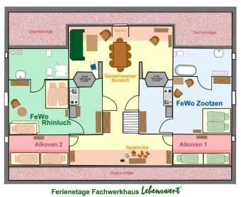 Lebenswert - FeWos im Fachwerk Ferienwohnung  - Bild 9