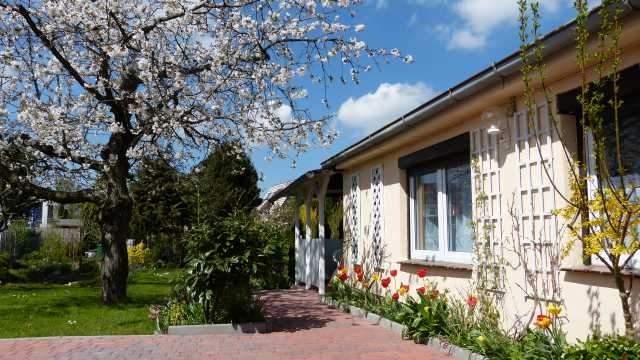 Ferienhaus in Rostock; eine Außenansicht