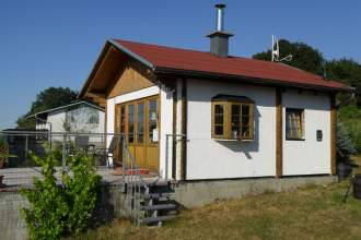 Ferienhaus Weitblick in Waltershausen, Thüringen - Außenansicht