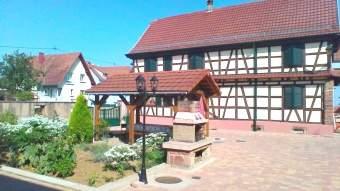 Ferienhaus Krauffel 4 8 pers Elsass nahe Obernai Ferienhaus  - Bild 2