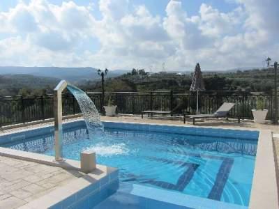 Ferienhaus Villa Semeli in Asteri - Kreta  Rethymnon Asteri bei Rethymnon