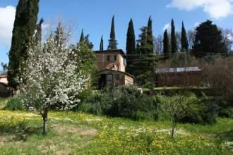 Bio B&B La Fanciullaccia - Gästezimmer in Capannoli, Toskana - Die Außenseite
