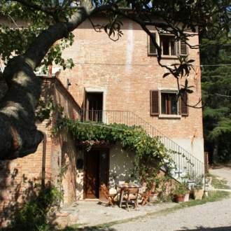 Gästezimmer Bio B&B La Fanciullaccia - Toskana   Capannoli - Der Eingang