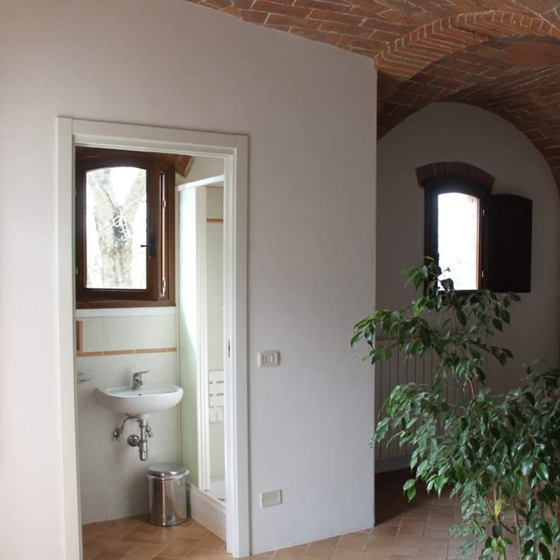 Das privat Bad im großen Zimmer